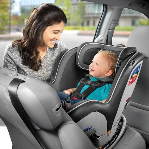 Chicco nextfit Zip Convertible enfant sécurité siège auto bébé Carbone NEUF
