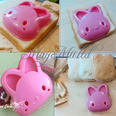 Rabbit Sandwich Toast Cookie DIY Cutter Mold Cake Bread Bento Maker Mould Tool H