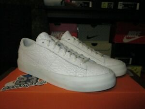 detailed pictures ac7a0 67ad6 Details about SALE NIKE BLAZER STUDIO LOW SUMMIT WHITE TRIPLE LEATHER GUM  880872 100 NEW MENS