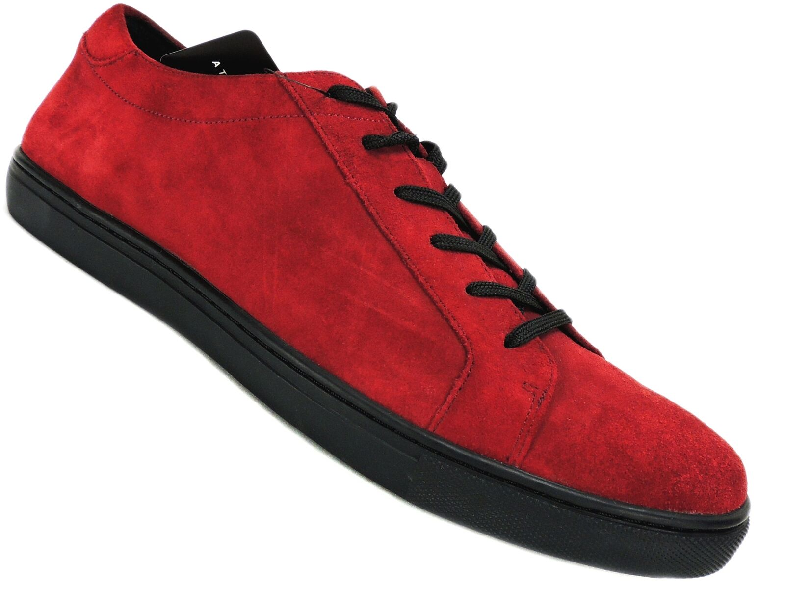Kenneth Cole New York Men's Kam Low-Top Sneakers Wine Red Suede Size 7 M