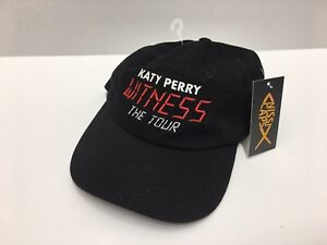 Details about NEW Rare Katy Perry Backstage Pass VIP Witness The Tour Black  Hat Cap