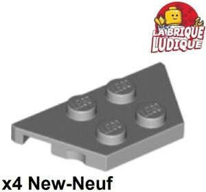 Lego 4x Tile plaque lisse 1x3 with Groove jaune//yellow 63864 NEUF