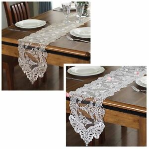 Lace-Floral-Hollow-Table-Runner-Wedding-Banquet-Party-Boho-Home-Tablecloth-Decor