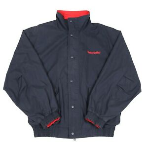 Details about TIMBERLAND Weathergear Jacket   Coat Collared Bomber Sailing 90s Vintage Retro
