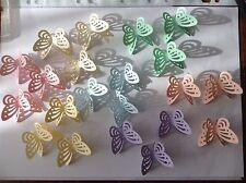 embelishments 30 3D Pastel Butterflies