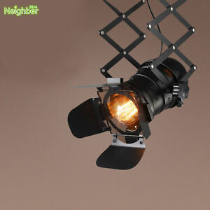Vintage ceiling lamp spot light industrial bar personality track image is loading vintage ceiling lamp spot light industrial bar personality aloadofball Image collections