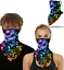 thumbnail 73 - Face Mask Bandana Headwear Covering Neckerchief Neck Gaiter Scarf with Loops Ear