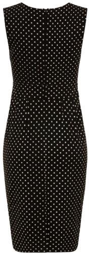 Miley Rockabilly Plus Bright Dots Dress Pencil Nero Polka Dots Bunny Size 7w5q4H