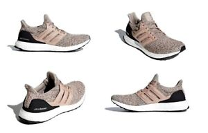 a81c98dfd5967 Adidas UltraBOOST Running Shoes Ash Pearl Core Black Mens Size 11.5 ...