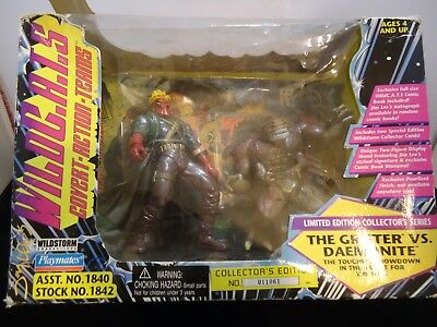 Wildcats Grifter VS Daemonite Set Jim Lee Collector/'s Edition New 1995 Amricons