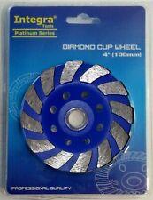 4 Inch 4 Diamond Segment Grinding Cup Wheel Disc Grinder Concrete Granite Stone