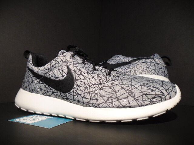 Buy Nike Roshe Run Rosherun GPX Premium Geometric Summit White Black Grey  631751-100 online  ea2d62a8d