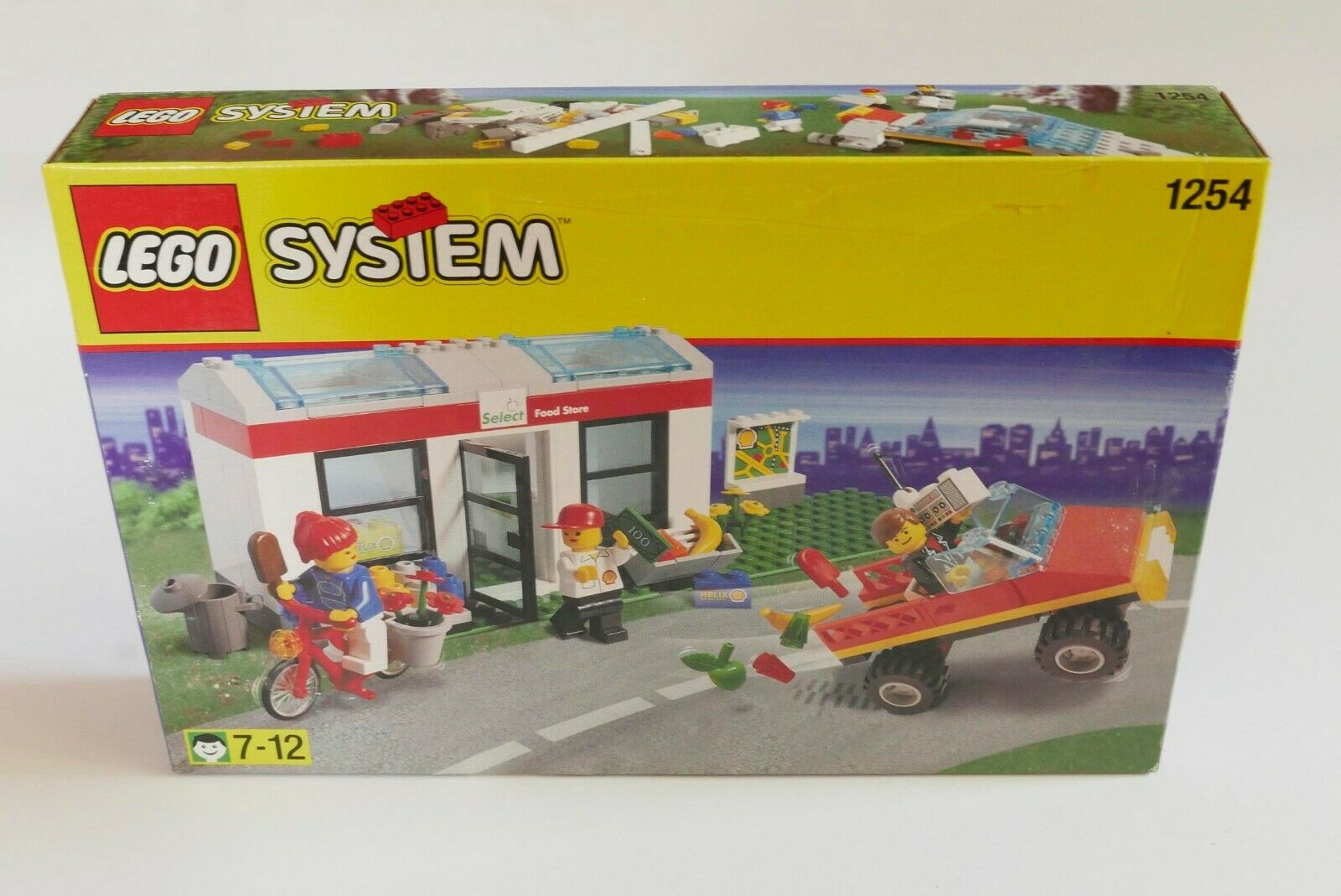 LEGO System Town 1254 Shell Select Shop NEW Meerled RARE Jahr
