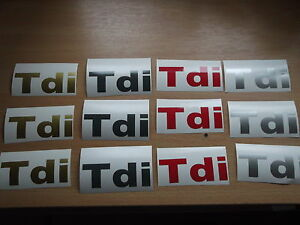 Land Rover Discovery Tdi rear side Replacement  stickers Decals X3