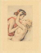 Edouard Chimot Modern Reprint - Courtisanes #4 - Ready to frame