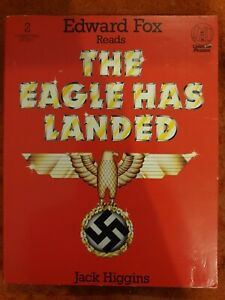 The-Eagle-Has-Landed-Jack-Higgins-Read-By-Edward-Fox-Rare-Tape-Audiobook-1979