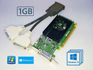 Windows-10-Dell-Optiplex-3010-7010-9010-SFF-Low-Profile-Dual-DVI-1-Go-carte-video