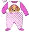Baby-Boys-Girls-Character-100-Cotton-Sleepsuit-Babygrow-Pyjamas-Minnie-Mickey thumbnail 15