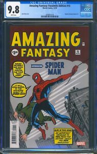 Amazing-Fantasy-15-Marvel-CGC-9-8-White-Pages-Facsimile-Edition-Reprint