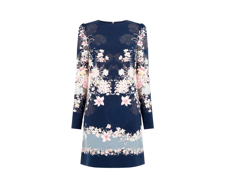 Oasis LOTUS SHIFT DRESS size 10 RRP