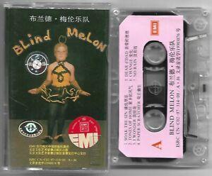 CASSETTE-TAPE-BLIND-MELON-s-t-Capitol-92-CHINA-unique-cover-grunge-RARE-NM