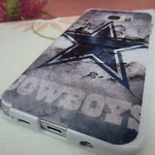 Dallas Cowboys #A Impact Silicone Rubber Cover Case for Samsung Galaxy Note 5 V