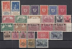 X2125-GERMANY-REICH-1919-1923-MINT-SEMI-MODERN-LOT-CV-195