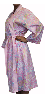 Linens n Things Daisy Pink Floral Bathrobe Shabby Chic Dressing Gown ...