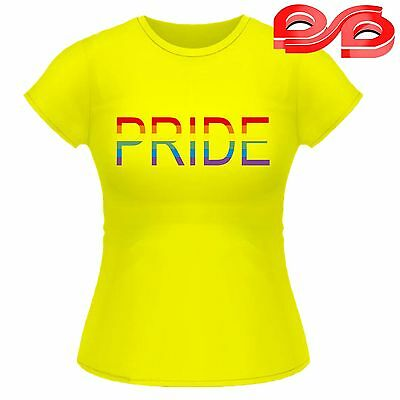 Pride Gay Lesbian Rainbow Colors Festival T shirt Ladies Tshirt Customized PINK