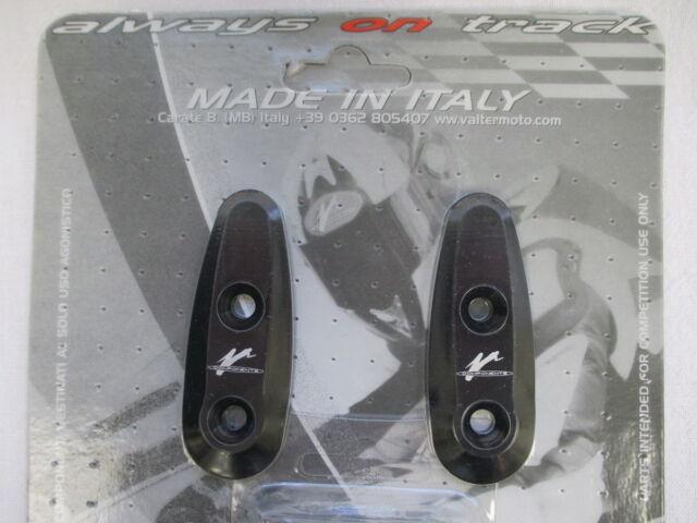 Valter Moto Mirror Hole Covers TAS05 for Yamaha R1, R6, Black