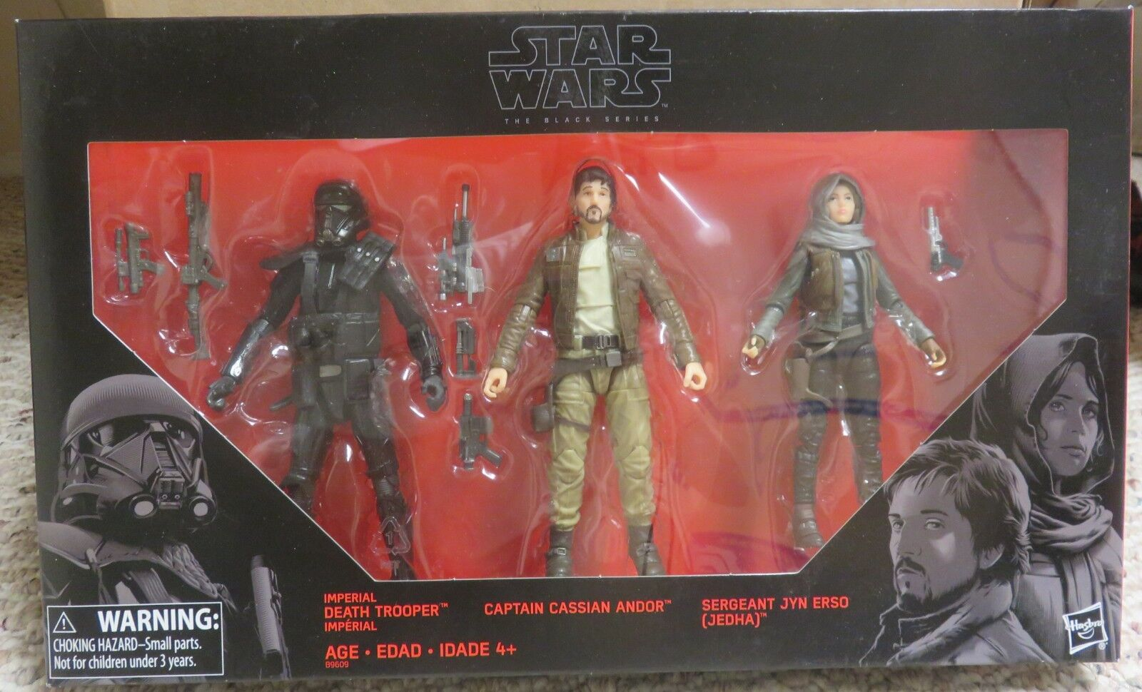 Star wars imperial tod soldat captain cassian andor sergeant jyn erso - neue