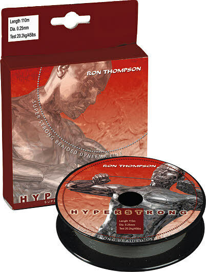 RON THOMPSON HYPERSTRONG DYNEEMA BRAID FISHING LINE 300M BOAT COD PIKE BASS LURE