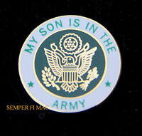 US ARMY SON HAT LAPEL PIN UP USA VETERAN VET MOM DAD DAUGHTER EAGLE GIFT WOW