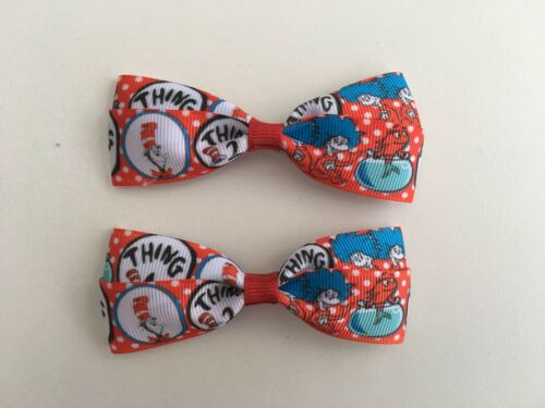 DR. SEUSS BOWS MINI OR FULL BOWS RED