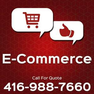 Custom eCommerce Website Development Packages Starting at $499. Call 416-988-7660 For A Quote Canada Preview