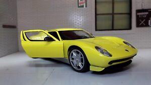 G-LGB-1-24-ECHELLE-2006-LAMBORGHINI-MIURA-Concept-Car-MOTORMAX-voiture-miniature