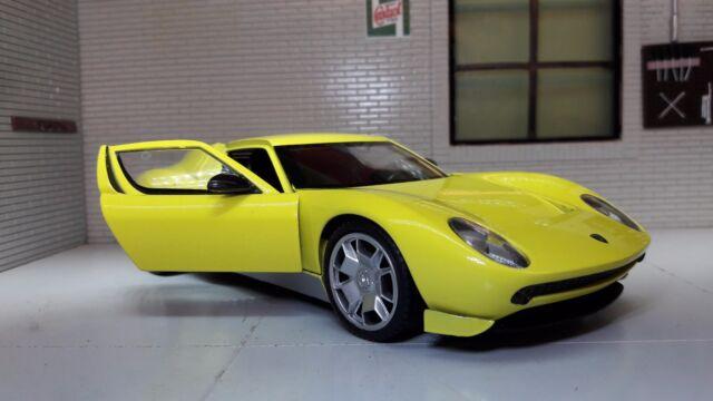 Motormax 1 24 Lamborghini Miura Concept 73367y For Sale Online Ebay