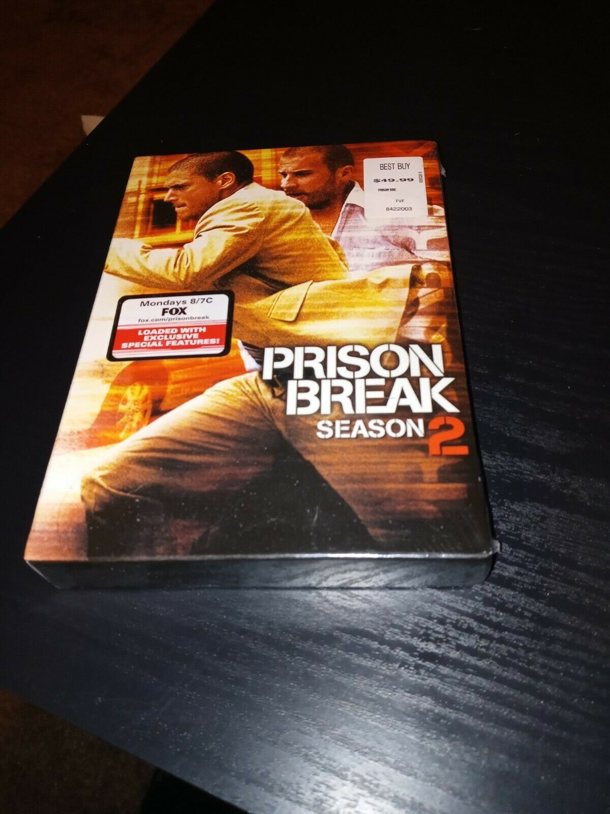 Prison Break Season 2 Dvd 2007 6 Disc Set For Sale Online Ebay