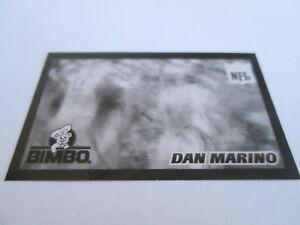 Details about 1996 Pinnacle Bimbo Bread ACETATE OVERLAY PROOF set (1 & 2)  Dan Marino Dolphins