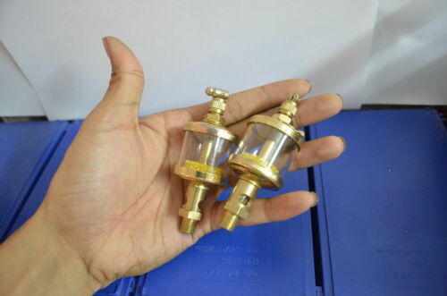 2x Drip Feed Oiler For Model Steam Engine