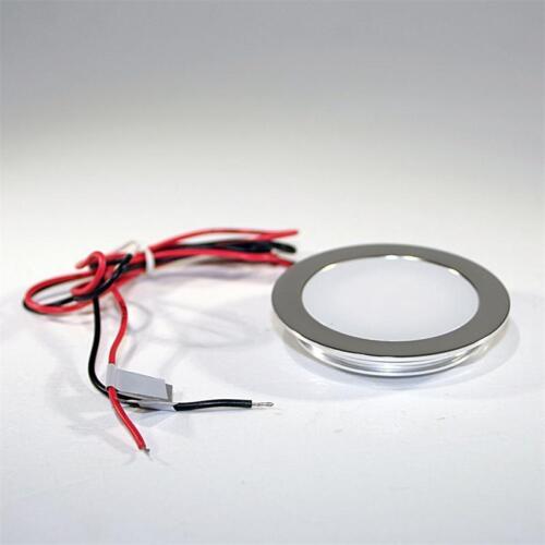 10er Set LED Faretto da Pavimento Bianco Slim Luce Faretto da Incasso Pavimento