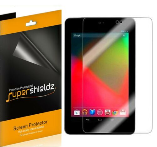 3x Supershieldz Clear Screen Protector for Asus Google Nexus 7 Tablet