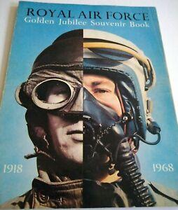 Royal Air Force Golden Jubilee Souvenir Book Magazine