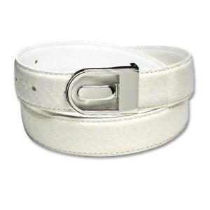 Men/'s Snake Skin Belt NAVY BLUE Genuine SnakeSkin Bonded Leather Belt /& Buckle