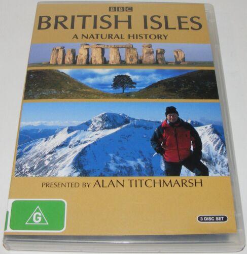 1 of 1 - BRITISH ISLES - A Natural History-- (DVD, 2005, 3-Disc Set)
