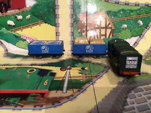 thomas the tank engine trackmaster trains Paxton & Matching Tenders With Cargo
