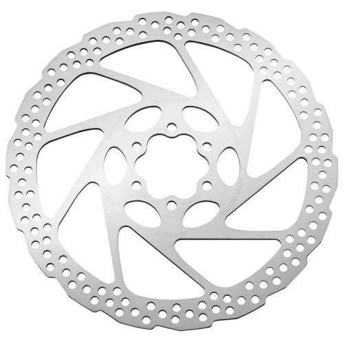 Shimano RT56M 180mm Deore 6 Bolt IS Standard Disc Brake Rotor