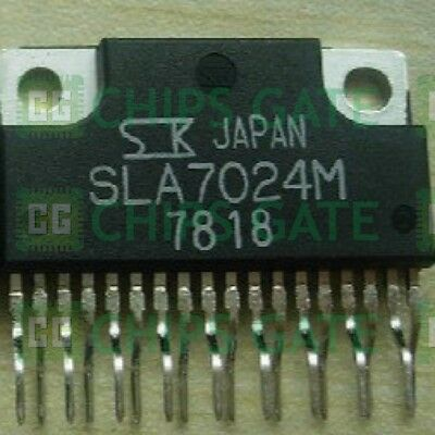 1PCS SLA7024M Encapsulation:ZIP-18,2-Phase Stepper Motor Unipolar Driver