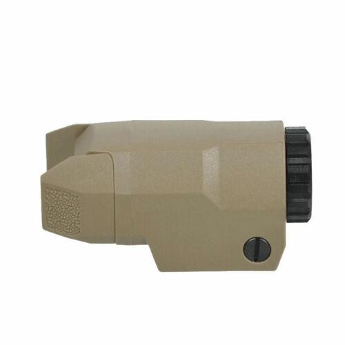 Tactical Flashlight For APL-C Mini Pistol Light LED Light For Glock 17//19//21//22