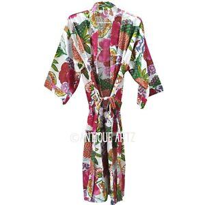 Bridesmaid Robes Indian Kimono Robes,Japanese Kimono wifi Kimono Robe,Night Costume,Delivery Gown Kimono Cardigan,Beach Wear Cotton Robe
